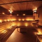 Finnish sauna — Stock Photo #5118048