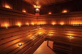 Finnish sauna — Foto Stock