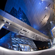 Futuristic BMW Welt building located in Munich, Germany - Foto de Stock  