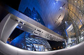 Futuristic BMW Welt building located in Munich, Germany — Stock Photo