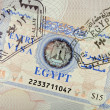 Egypt Visa - Stock Photo