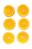Orange rings — Stock Photo