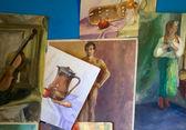 Paintings — Stock Photo