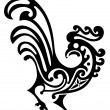 Royalty-Free Stock Vector Image: Ornamental rooster