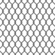 Stock Vector: Chain link fence texture