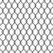 Chain link fence texture — Stock Vector