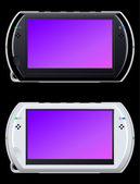 Portable video game console — Stock Vector