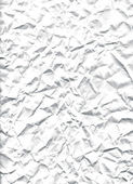 White crushed paper — Stock Photo