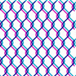 Chain link fence — Vettoriali Stock