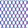 Chain link fence — Stock vektor