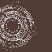 Calendario maya — Vector de stock