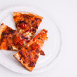 Pizzon plate — Stock Photo #5055408