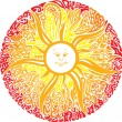 Sweet sun - Stock Vector