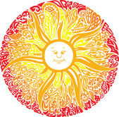 Sweet sun — Stock Vector