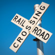 Railroad Crossing — Lizenzfreies Foto