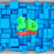 3d Abstract Background — Stock Photo #4978737
