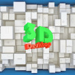Stock Photo: 3d Abstract Background