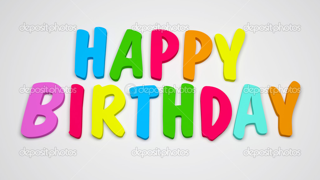 Happy Birthday Background — Stock Photo #4978996