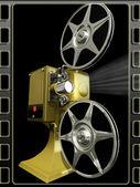 Film projektor visa flytta — Stockfoto