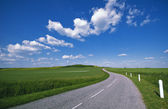 Countryside road — Stockfoto