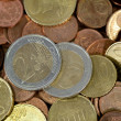 Euros coins — Stock Photo #5100538