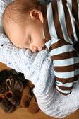 Sleeping baby — Стоковое фото