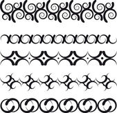 Decorative border — Stock Vector