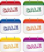 Signboard sale — Stock Vector