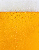 Dewy beer glass texture — Stock Photo