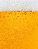 Dewy beer glass texture — Stock Photo