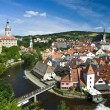 Cesky Krumlov The City - Stock Photo