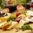 Cheese plate — Stock Photo #4983243