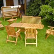 Garden furniture — Stock Photo