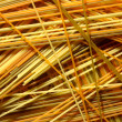 Texture of the various colors of spaghetti - Stock Photo