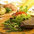 Beefsteak Mexicstyle — Stock Photo #4984020