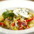 Italian risotto vegetariana - Stock Photo