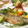 Grilled trout — Stock Photo #4984146