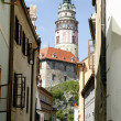 Cesky Krumlov Chateau Tower 2 — Stock Photo