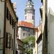 Cesky Krumlov Chateau Tower 2 — Stock Photo #4984495