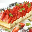 Stock Photo: strawberry cake&quot