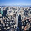 The New York City panorama — Foto Stock