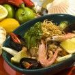 Seafood salad Mexican style — Stock Photo #4985271
