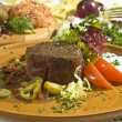 Beefsteak Mexicstyle — Stock Photo #4985286