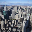 The New York City panorama - Foto de Stock