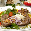 Beefsteak Mexicana - Stock Photo