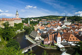 Cesky Krumlov The City — Stock Photo
