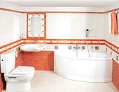 The luxury bathroom — Stock Photo