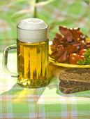The mug of beer — Stock Photo