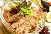 Bonfile salatası meksika stili — Stok fotoğraf