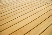 Wooden table detail — Stock Photo